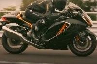 Новый Suzuki Hayabusa показали на видео