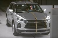 Краш-тест нового Chevrolet Blazer: подвели «маргинальные» фары
