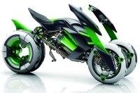 Трёхколёсный супербайк от Kawasaki: идея продолжает развиваться