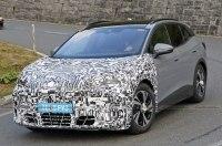 В Сеть попали шпионские снимки электрокроссовера Cupra Tavascan 2024 года в кузове VW ID.4