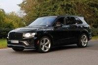 Bentley: тестирует «черную» Bentayga