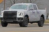 Новый Ford Ranger переоделся в камуфляж полегче
