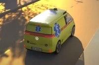 VW разрабатывает скорую с автопилотом