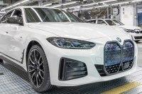 Электрический BMW i4 встал на конвейер