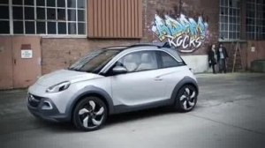 Видео Реклама Opel ADAM Rocks