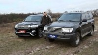 Видео Тест-драйв Toyota Land Cruiser 200 2015