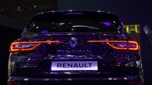 Видео Renault Talisman Estate на выставке