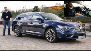 Видео Тест Renault Talisman Estate