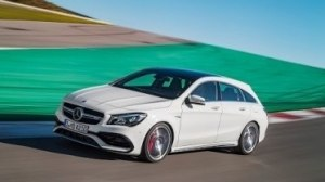Mercedes-Benz CLA Shooting Brake на треке