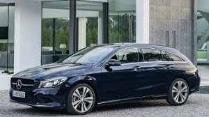 Mercedes-Benz CLA Shooting Brake внутри и снаружи