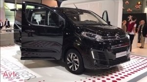 Обзор Citroen SpaceTourer