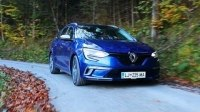 Видео Тест Renault Megane Estate GT