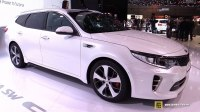 Видео KIA Optima GT Sportswagon на выставке