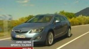 Видео Видеообзор Opel Astra J Sports Tourer от канала 24