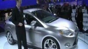 Видео Ford Focus Sedan на Детройтском автосалоне.