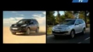Видео Тест-драйв Peugeot 4007 vs Citroen C-Crosser