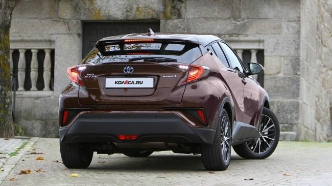 Нежданчик. Toyota C-HR Hybrid