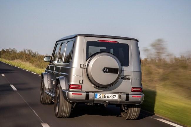 Бойцовский куб. Mercedes G-Class (W463)