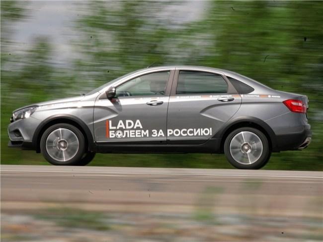 Чем она лучше простого седана?. ВАЗ Lada Vesta Cross