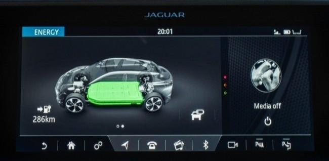 Электрический кот. Jaguar I-Pace