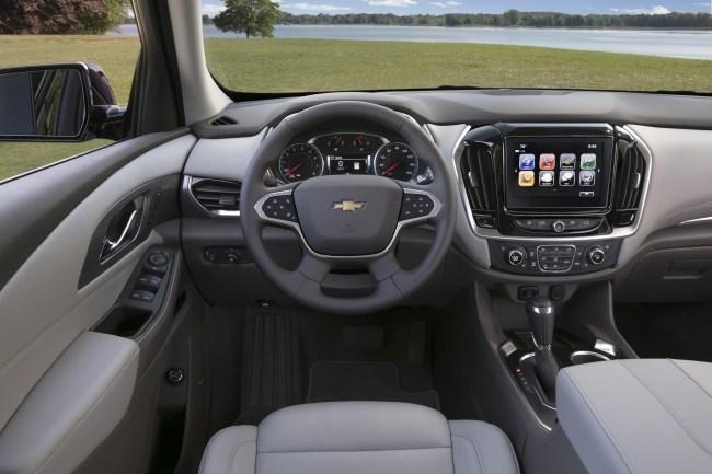 Трехрядная Америка. Chevrolet Traverse