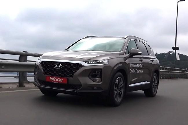 Hyundai Santa Fe. Хорошо, но дорого. Hyundai Santa Fe