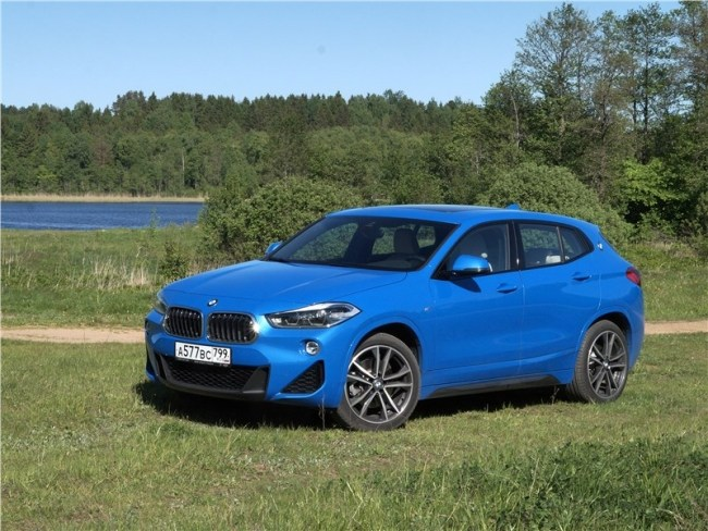 Возведение в квадрат. BMW X2 (F39)