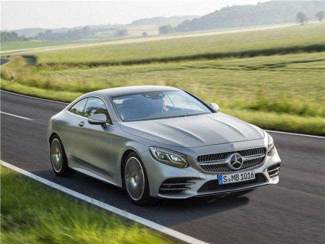 Четверть миллиона долларов у бордюра. Mercedes S-Class Coupe (C217)