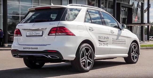 Mercedes-Benz GLE. Дизельный оптимум. Mercedes GLE-Class SUV (W 166)
