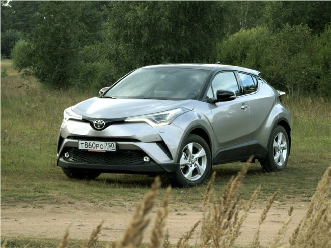 Продлись, прекрасное мгновенье!. Toyota C-HR