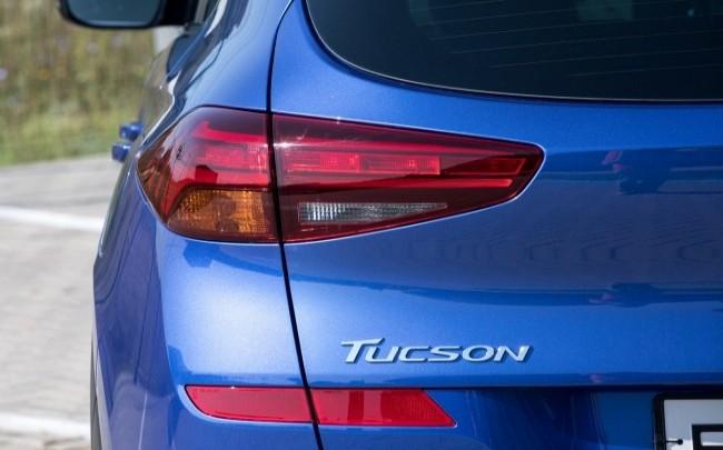 Знает только рожь высокая. Hyundai Tucson
