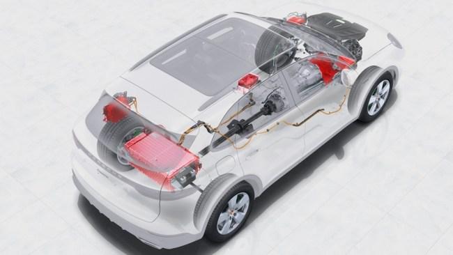 Запитываем от сети. Porsche Cayenne E-Hybrid
