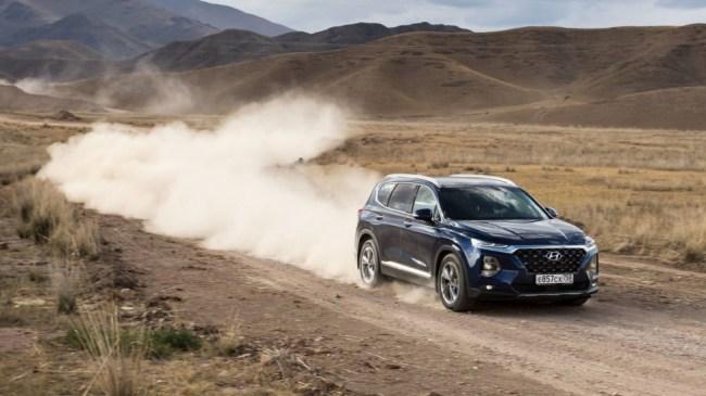 Дымдала или дымляма?. Hyundai Santa Fe