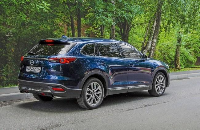 Красотка и быт. Mazda CX-9
