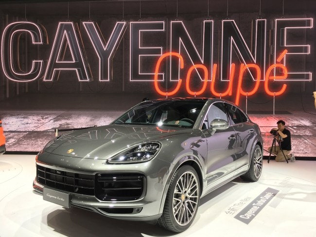 Porsche Cayenne Coupe Turbo - 550 л.с. 770 Нм