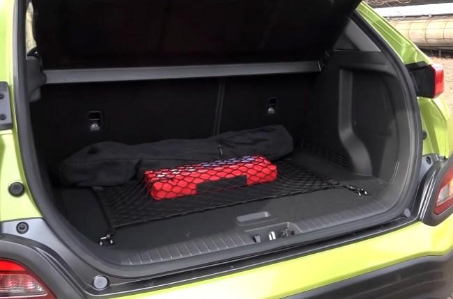 Hyundai Kona Electric багажник