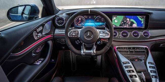 Первым классом. Mercedes AMG GT 4-Door Coupe (X290)