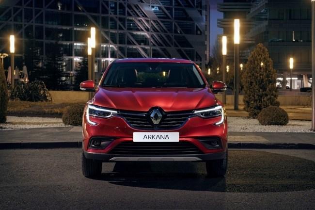 Роды прошли успешно. Renault Arkana