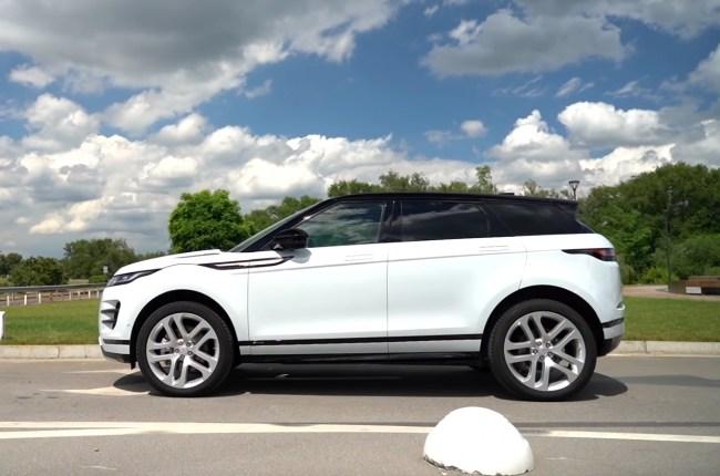 Land Rover Range Rover Evoque вид сбоку