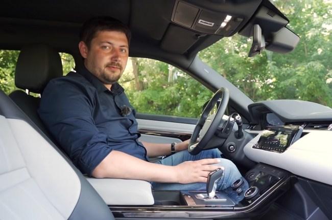 Land Rover Range Rover Evoque посадка за рулем