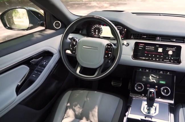 Land Rover Range Rover Evoque салон