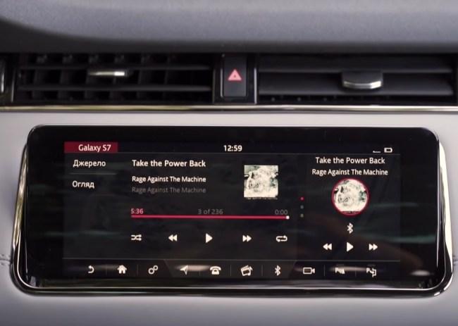Land Rover Range Rover Evoque мультимедийная система