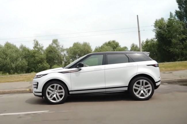 Land Rover Range Rover Evoque поведения на дороге