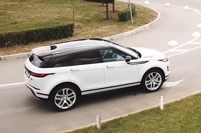 Land Rover Range Rover Evoque панорамная крыша