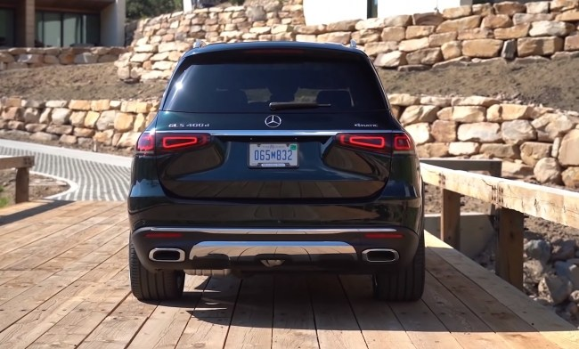 Новый Mercedes-Benz GLS. Убийца BMW X7?. Mercedes GLS-Class (X167)
