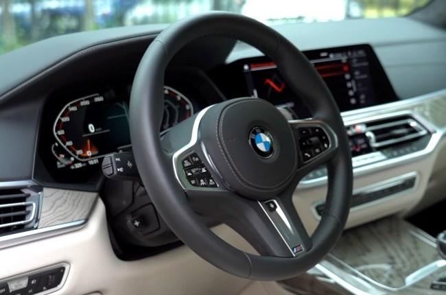 BMW Х7 руль
