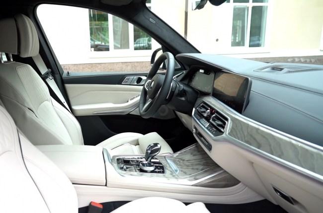BMW Х7 интерьер салона