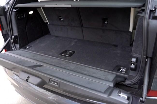 BMW Х7 багажник