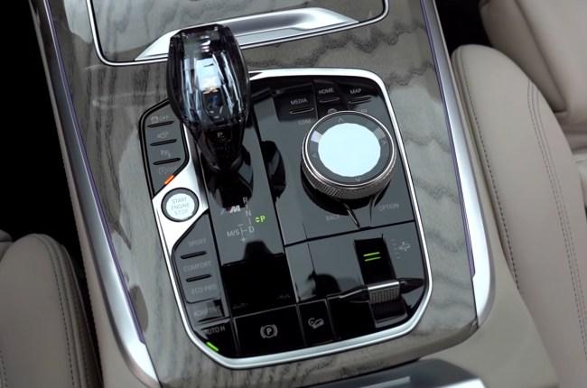 BMW Х7 хрустальная ручка АКПП
