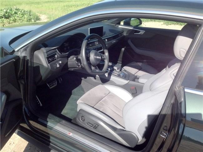 Полет на предельно малой. Audi A5 Coupe
